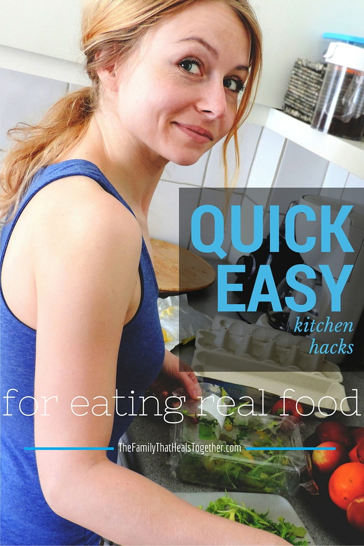 Overwhelmed with making diet changes and don't know what to eat or where to start? Use these kitchen hacks to get you going!