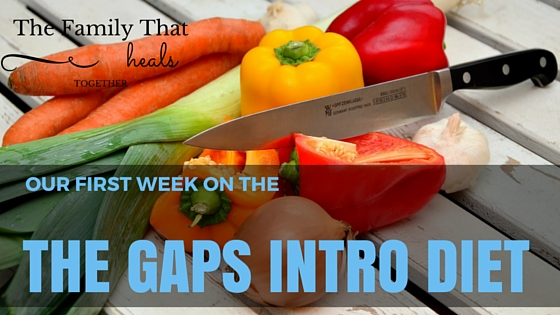 Week one of the GAPS intro diet- what we ate and what we learned!