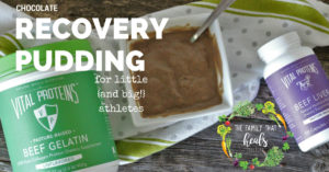 Chocolate Recovery Pudding for Little {and Big} Athletes | The Family That Heals Together