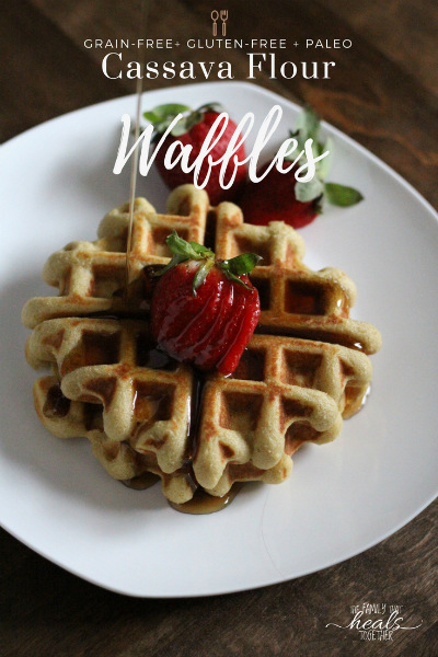Paleo Waffles with Cassava Flour | The Family That Heals Together