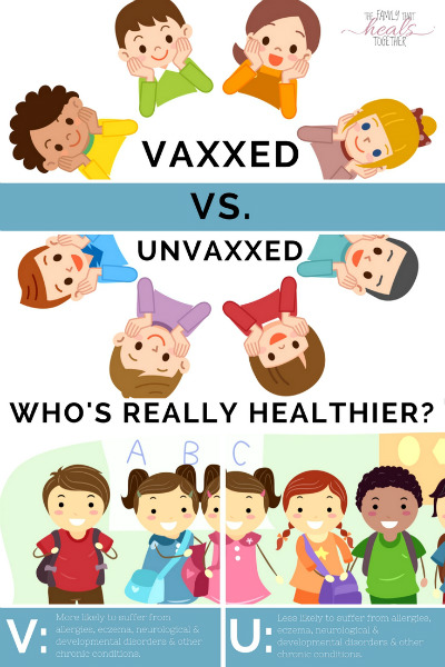 Vaxxed Vs. Unvaxxed: Are Unvaccinated Children Healthier Than Those Who Are Vaccinated? | The Family That Heals Together
