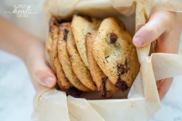 Healthy Chocolate Chip Cookie Recipe | GAPS Diet + Paleo | The Family That Heals Together