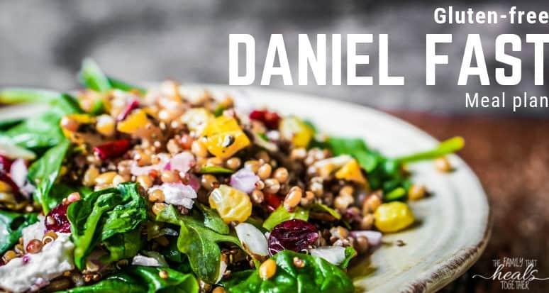 Daniel Fast Meal Plan (Gluten-free)