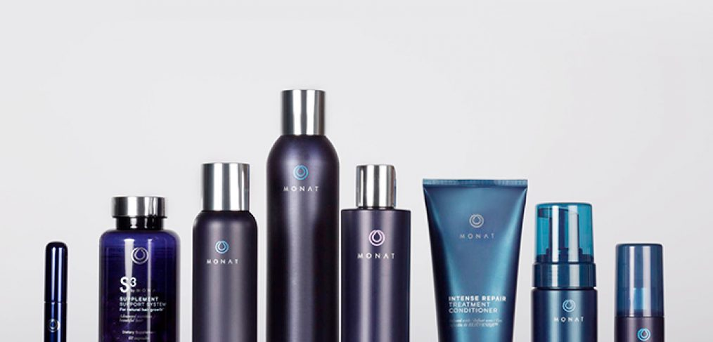 Monat's non-toxic, highly effective anti-aging hair products