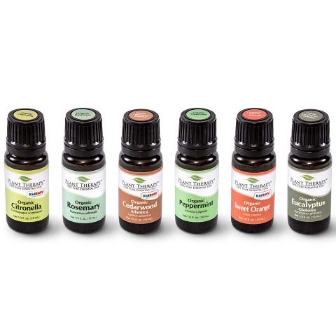 Plant Therapy 6 Organic Sampler Set