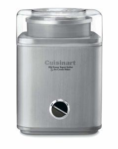 Ice cream maker- Cuisinart 2-Quart Automatic